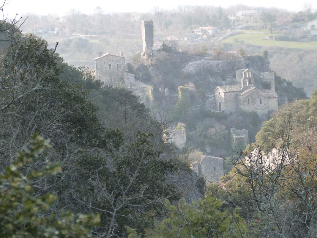 Village de Rochecolombe